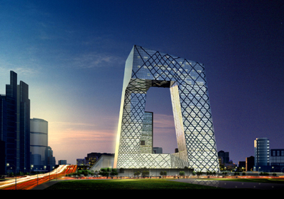 New Headquarters of Central Chinese Television (CCTV) (Beijing, 2002-2008) ©OMA