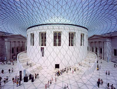 The Great Court at the British Museum, London, 1994-2000. © Foster and Partners