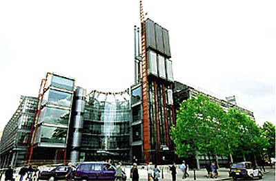 9, Channel 4 Television Headquarters, London ©Sankei Shimbun